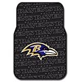 Ravens OFFICIAL National Football League, 25.5 x 17.5 Car Floor Mat Set (Pair of 2)