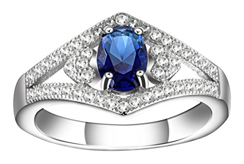 ruth-g-jewelry-womens-blue-sapphire-platinum-plated-sterling-silver-classic-promise-ring