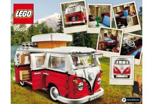 Lego 10220 improved version 1334pcs Volkswagen T1 Camper Van