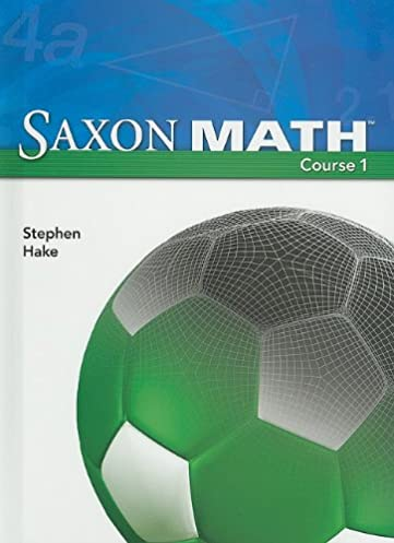 saxon math course 1 stephan hake 9781591417835 amazon com books rh amazon com 6th Grade Saxon Math Course 1 Answers saxon math course 1 solutions manual