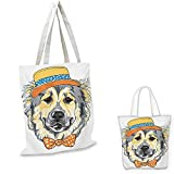 Best COLEMAN Baseball Hats - Animal Portable Shopping Bag Cartoon Art Style Animal Review