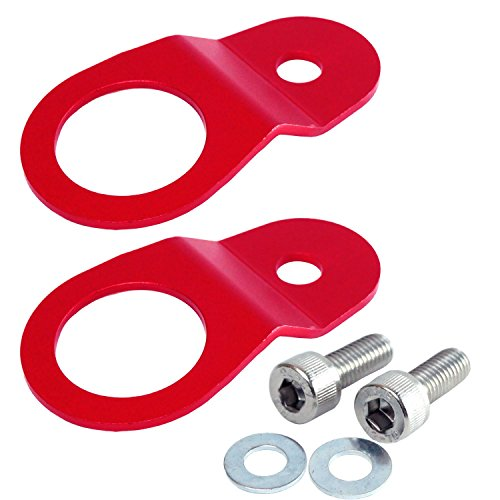 Radiator Stay Mounting Bracket For 03-06 Mitsubishi Evo VII VIII IX 7, 8 & 9 (Red) - Evo Viii