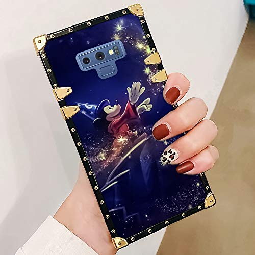 DISNEY COLLECTION Phone case Compatible with Samsung Galaxy Note 9 Mickey Turns Magic Reinforced Edges Fashion Luxury Cool Cute Cartoon Bumper Shock Absorption - Cool Bumper