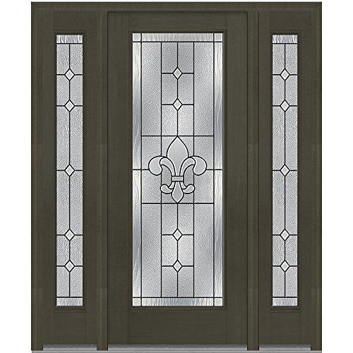 Jeld-Wen National Door Company Z008203R Fiberglass Mahoga...