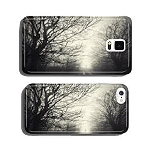 dark forest landscape with ghost cell phone cover case Samsung S5