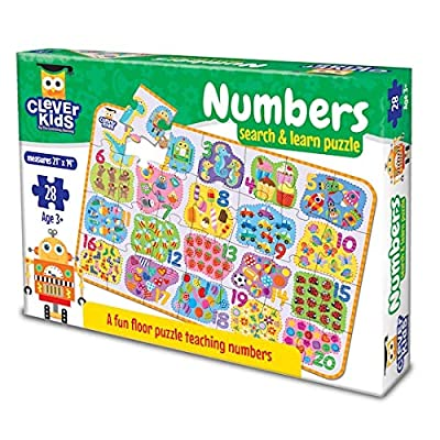 Clever Kids Colors and Shapes Search and Learn Puzzle: Toys & Games