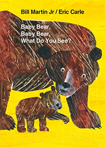 Baby Bear, Baby Bear, What Do You See? Board Book (Brown Bear and Friends) -
