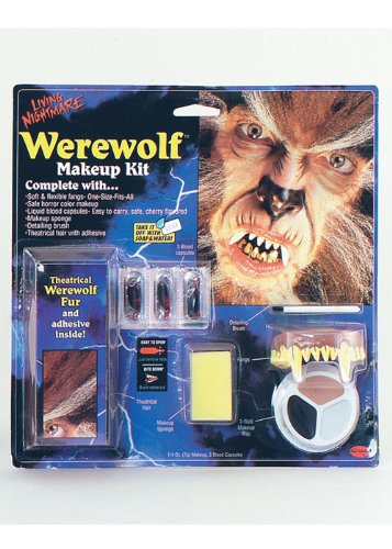Halloween Werewolf Make-Up Kit