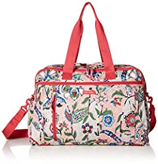 Vera Bradley has thought of everything a great travel bag needs with the Lighten Up weekender - the carryon compliant duffel to fit everything you need for your next adventure. The Lighten Up weekender Travel Bag is the fashionable solution f...