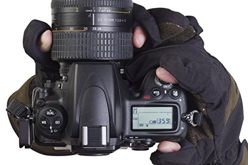 Aquatech Sensory Gloves for Easy Access to Camera or Phone in Winter Weather, Size: Large 8