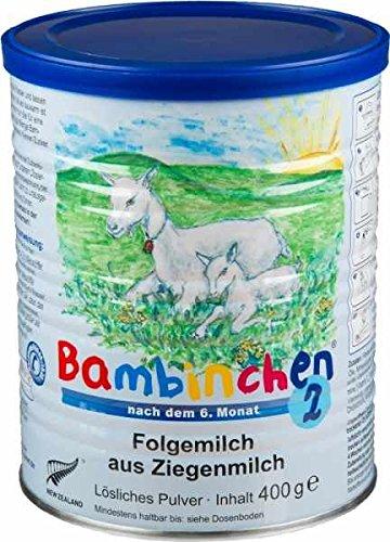 Bambinchen 2 Folgemilch, nach dem 6 Monat, 2er Pack (2 x 400g) Blauer Planet GmbH