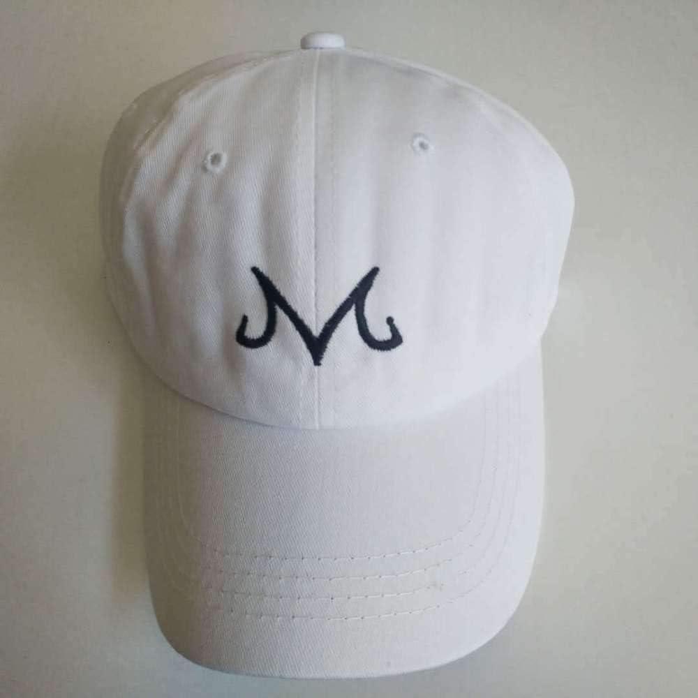 sdssup Dragon Ball Magic Man Buu Logo Gorra de béisbol Visera Gris ...