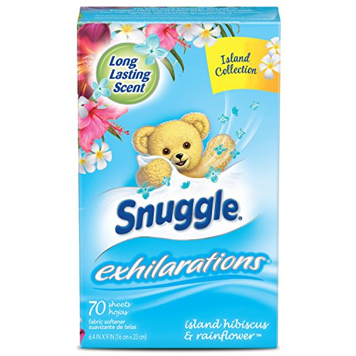 snuggle-exhilarations-fabric-softener-dryer-sheets-island-hibiscus-rainflower-70-count