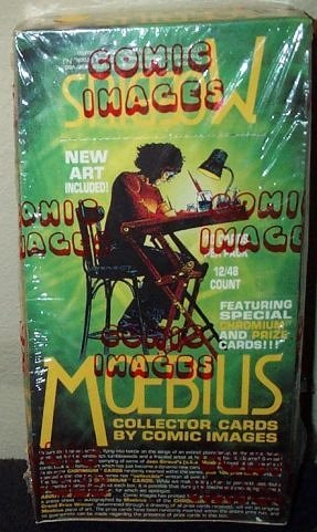 Moebius Collector Trading Cards Box -48 Count by Comic Images