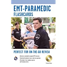 EMT-Paramedic Premium Edition Flashcard Book w/CD