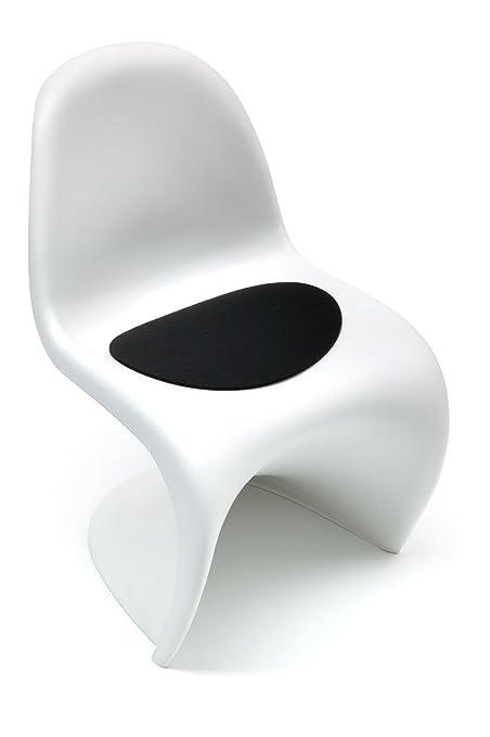 Hey Sign - fieltro-colchón Panton Chair, negro 5 mm AR