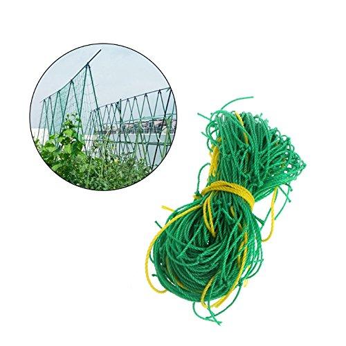 Thobu Climbing Net for Treehouse Garden Green Nylon Trellis Netting Support Climbing Bean Plant Nets Grow Fence