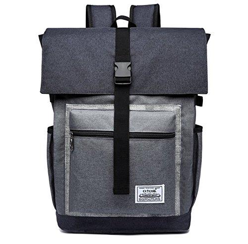Premium Oxford Shock Proof School Bag Backpack Travel Bag for Apple MacBook Pro 13'' 13.3'' 14'' 15'' 15.4'' 15.6 inch laptops
