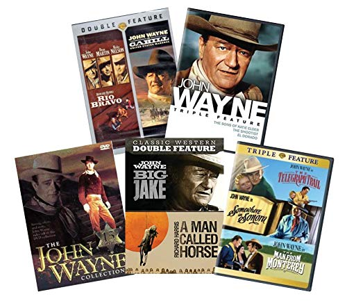 Ultimate John Wayne 25-Movie DVD Collection: Rio Bravo / Cahill / Big Jake / A Man Called Horse / El Dorado / The Shootist / The Sons of Katie Elder / The Telegraph Trail / The Man from Monterrey / So (John Wayne Ultimate Collection)