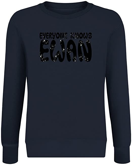 Todo el Mundo Sabe Ewan - Everyone Knows Ewan Sweatshirt Jumper Pullover For Men & Women