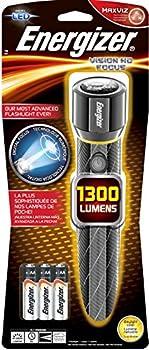 Energizer Alkaline 1300-Lumen LED Handheld Flashlight + $5 Lowes GC