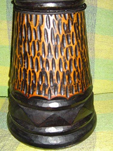 SALE - HANDMADE 24'' X 14'' Djembe Deep Carved Hand Drum Bongo CHEETAH - Model # 60m20