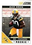 2011 Score Football Card #307 Alex Green RC - Green