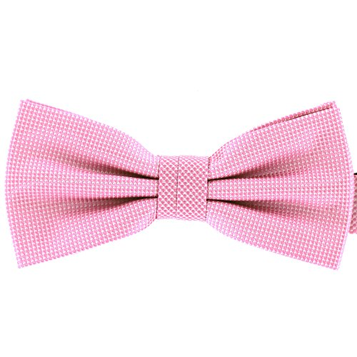 Tok Tok Designs Handmade Bow Ties for Large  Medium Size Dogs (B30, Pink)