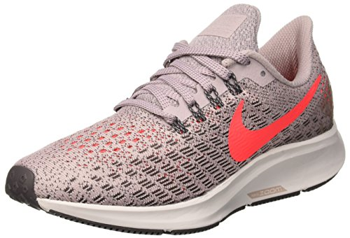 Nike Women's Air Zoom Pegasus 35 Particle Rose/Flash Crimson Ankle-High Mesh Running Shoe - 6M