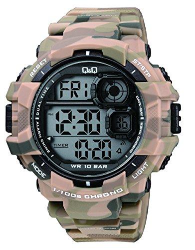 mens-dress-watch-qq-m143j003y-quartz-analog-wrist-watch-camouflaged-pu-band-in-brown-waterproof