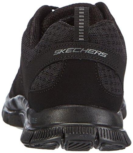 Nero Sportive Skechers Bbk Scarpe Adaptable Flex Donna Donna Appeal 1WzqHR0S