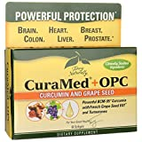 curcumin terry naturally - CuraMed + OPC EuroPharma curcumin and grape seed (Terry Naturally) 60 Softgel