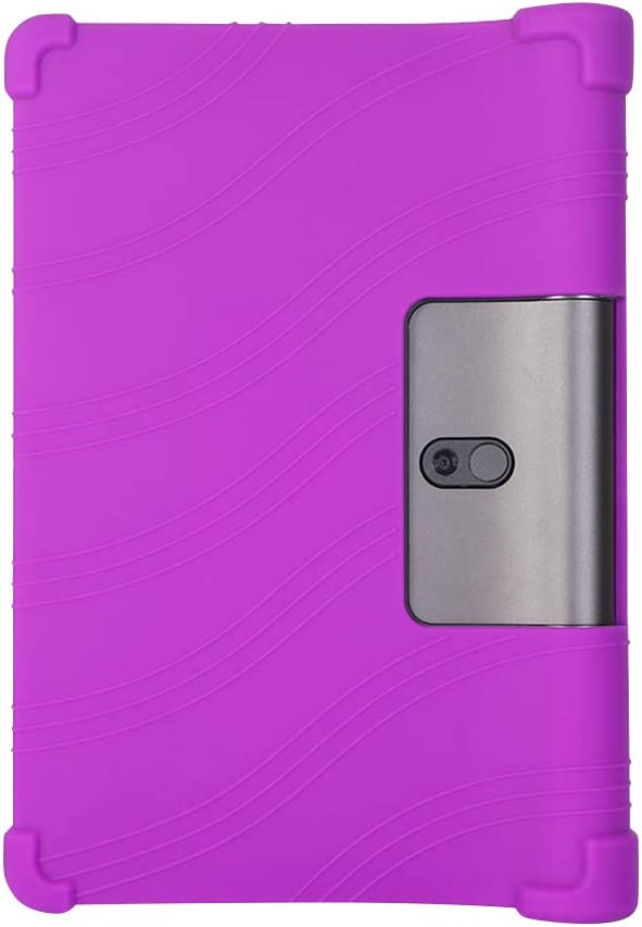 Yudesun Case for Lenovo Yoga Smart Tab//Yoga Tab 5 Silicone Soft Pouch Shockproof Rubber Shell Protective Cover for Lenovo Yoga Smart Tab//Yoga Tab 5 YT-X705F 10.1 Inch 2019 Tablet
