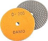 DAMO Diamond Polishing Pad 5 inch Dry Grit 200
