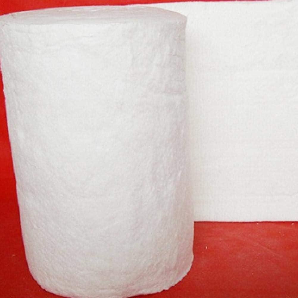 Coperta in cotone ignifugo aluminum silicato ago coperta isolante in fibra di ceramica ad alta temperatura caldaia isolamento cotone refrattaria isolamento in cotone bianco