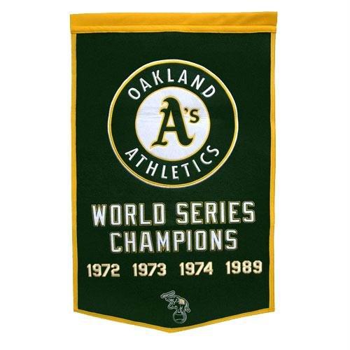 MLB Oakland A's Dynasty Banner