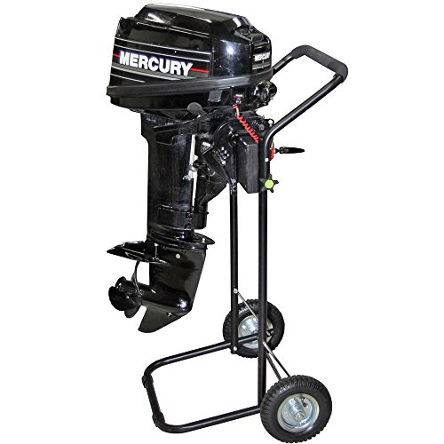 15 HP Outboard Motor Cart Engine Stand with Folding Handle (Best Value Outboard Motors)