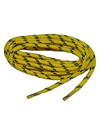 Yellow w/ Black Yellow Jacket Kevlar (R) proTOUGH(TM) Boot Shoelaces 2 pair pack