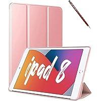 Novo Capa Novo iPad 7a e 8a Geração 10.2″ Premium Slim Antichoque sem Compart. para Pencil Rose (Rose)