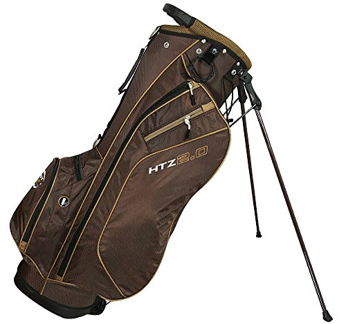 Hot-Z 2017 Golf 2.0 Stand Bag, Cocoa Brown