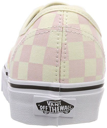 Vans White Pink Classic Chalk Authentic Checkerboard Zqwrv6XFZx