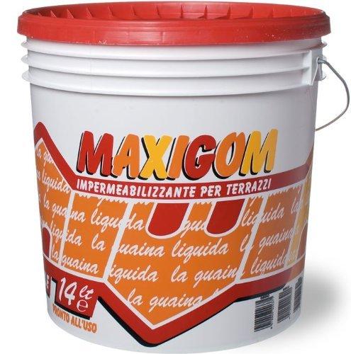 9 opinioni per Guaina Liquida Impermeabilizzante Calpestabile Maxigom Laiv Trasparente 13 Lt