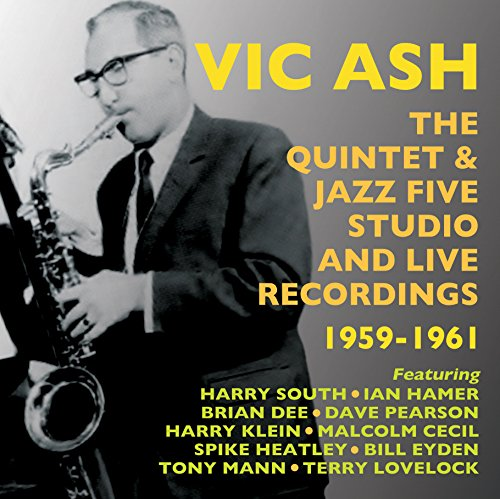 CD : Vic Ash - Quintet & Jazz Five Studio & Live Recordings 59-61 (CD)