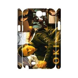 YYCASE Samsung Galaxy Note 2 N7100 case Thor Loki,Customized Hard 3D Case