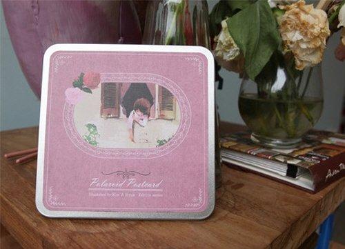 Illust Polaroid Postcard - Kim ji Hyuk edition