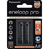 Pilha Recarregável AA, Eneloop Pro, Pequena, Cartela com 02 unidades