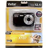 Vivitar 12.1MP Digital Camera, Colors and Styles May Vary