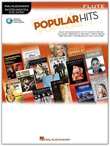 (Hal Leonard Popular Hits For Flute - Instrumental Play-Along Book/CD)