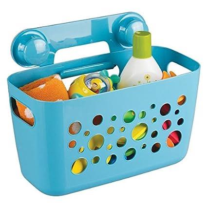 Accessori Bagno Senza Trapano.Mdesign Portaoggetti Doccia Per Bambini Ideale Portaoggetti Doccia