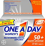 One A Day Womens 50+ Advantage, 65-Count For Sale
